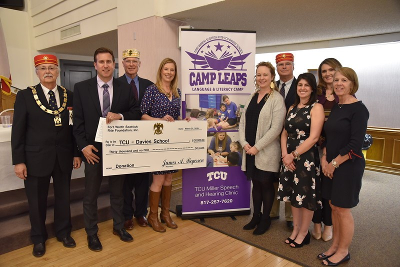 2019 Donation to TCU Camp Leaps